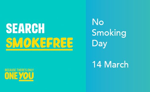 No Smoking day – 14 March